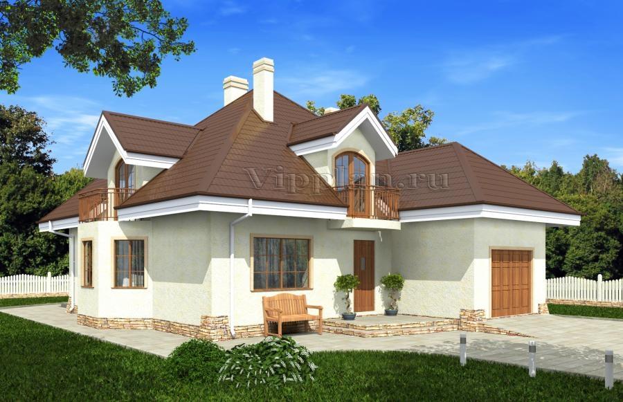 Каркасные дома под ключ Проекты каркасных домов для